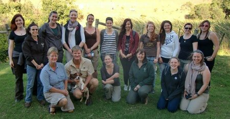 Vet nursing trip to South Africa