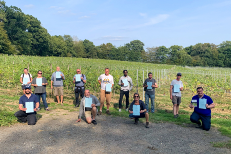 Plumpton College successfully launches its pilot 'Entry into Viticulture' retraining program