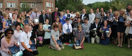 Winning student achievements at Plumpton College