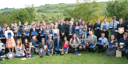 Student awards at Plumpton College