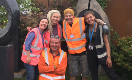 Gold at The RHS Chelsea Flower Show 2019