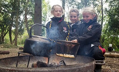 Outdoor learning puts LOGS pupils at natural advantage
