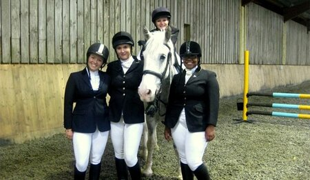 Brighton Equestrian team - first BUCS competition of the season