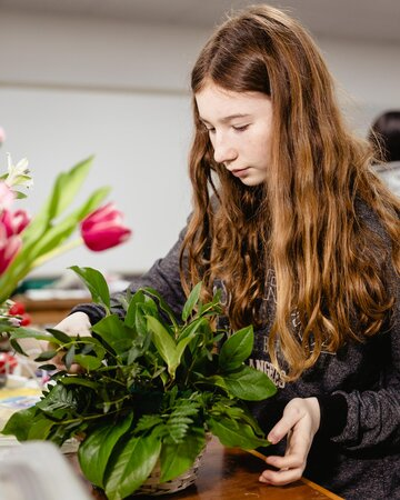 Student Success: Floristry Work Experience