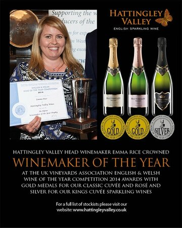 Emma Rice Plumpton Wine Department Graduate, Winemaker of the Year