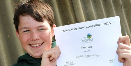 College Student Winners at South of England Agricultural Society's Project Competition Awards