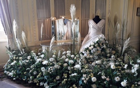 Floristry department dazzles at Leeds Castle 'Festival of Flowers'
