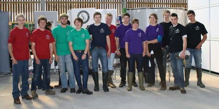 Shear winners at Plumpton College