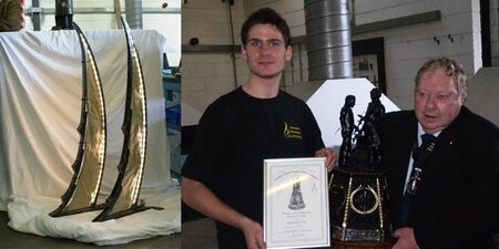 Plumpton College Blacksmithing students wins top National student Award