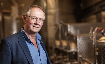 Chris Foss, founder of Plumpton Wine Division, is to retire