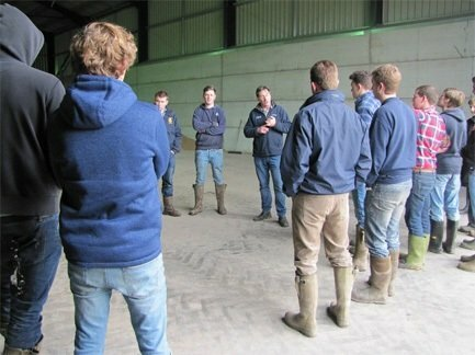 Manor Farm supports the next generation of farmers