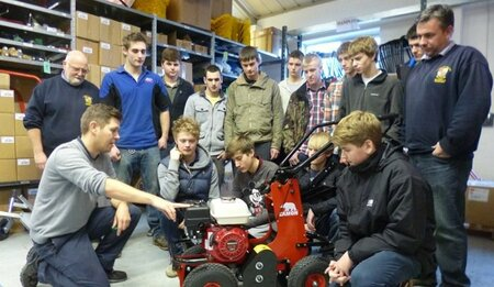 Plumpton College Students Receive Industry Insight at Tracmaster