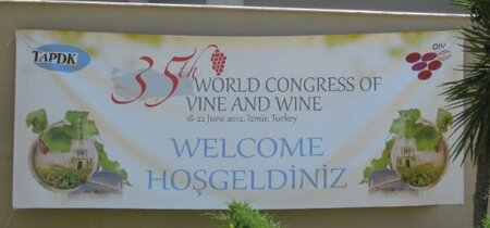 The 35th OIV Vine and Wine Congress in Izmir, Turkey