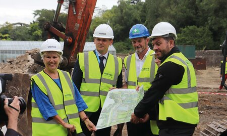 Work starts on Stanmer Restoration project