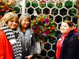 Plumpton College floristry team success