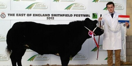 Plumpton Student named as 'Young Beef Stockman of the Year'