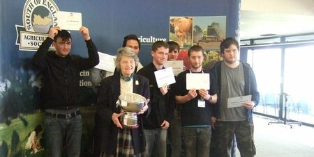 Jim Green Memorial Competition - College team wins for third year running