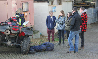 Farm Safety Foundation highlight dangers of sector to agriculture students