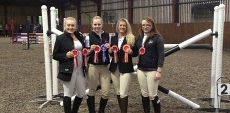 The University of Brighton Equestrian Team
