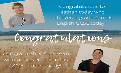 GCSE English & maths results higher than national pass rates